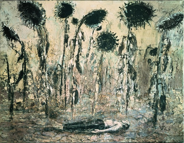 Anselm Kiefer, 'Die Orden der Nacht', 1996, Painting, Acrylic, emulsion, and shellac on canvas, Centre Pompidou