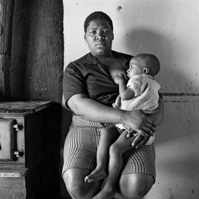 , 'Queen Monyeki in her kitchen, 1388A White City, Jabavu, Soweto,' 1972, Goodman Gallery