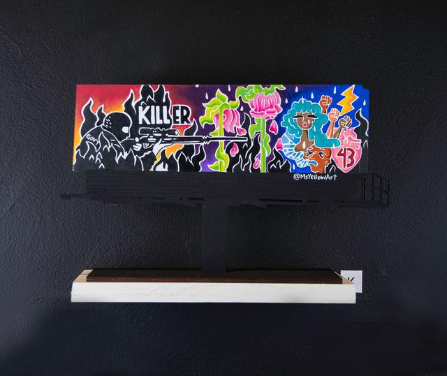 , 'Billboard K,' 2018, EWKUKS