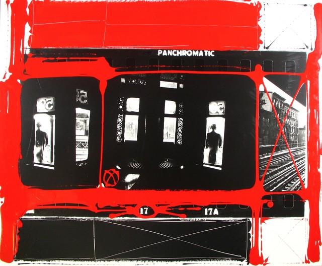 , 'Arrêt du metro aérien, New York,' 1955, Howard Greenberg Gallery