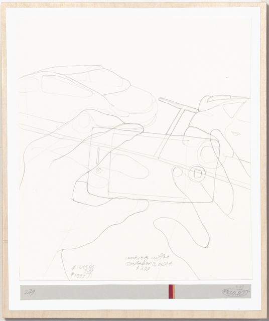 , 'Income's Outcome 279,' 2014, Galerie Michael Sturm
