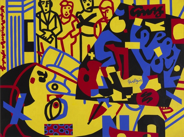 , 'Tropes de Teens,' 1956, Whitney Museum of American Art