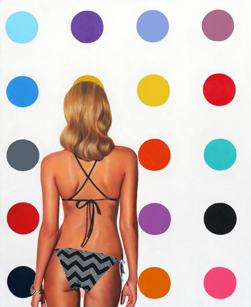 Marc Dennis, 'The Impossibility Of Geometry In The Mind Of Someone In A Bikini', 2015, Stowe Gallery