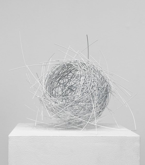 , 'White Nest,' 2018, De Buck Gallery
