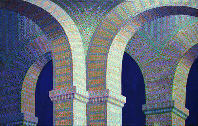 , 'Arches & Pendantive,' 1989, Anita Shapolsky Gallery