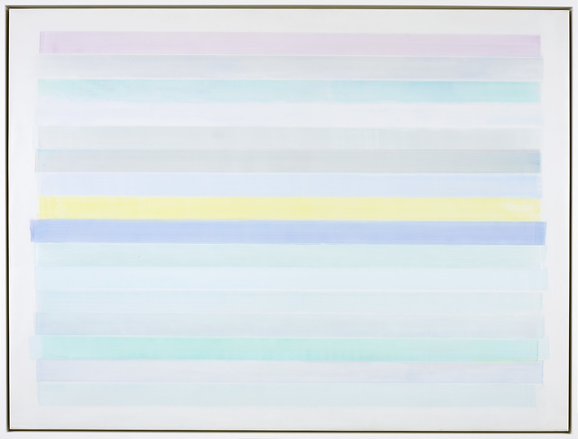 Mike Solomon, 'Native Shore #9', 2020, Painting, Acrylic on polyester films on panel, Berry Campbell Gallery