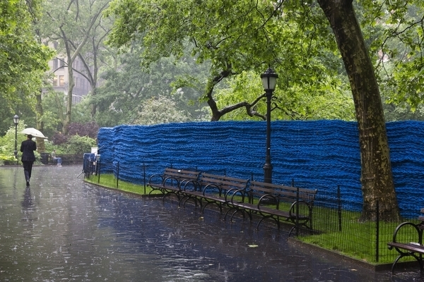 , 'Blue,' 2013, Madison Square Park