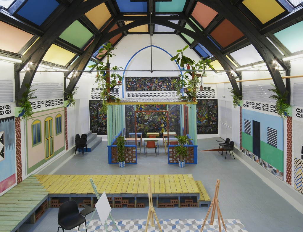 Sol Calero: La Escuela del Sur at Studio Voltaire, London. Courtesy of the artist and Laura Bartlett Gallery, London.