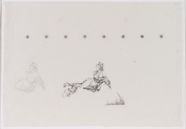 , 'DürerÜbung III Meerwunder,' 2017, C. G. Boerner