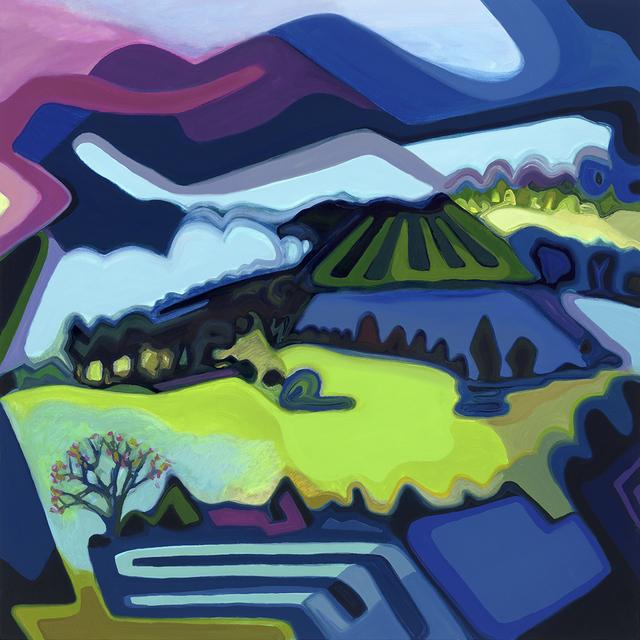 Sandy Litchfield, 'Luna', 2018, Painting, Oil/acrylic on canvas, Bernay Fine Art