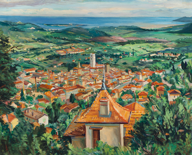 , 'Panorama of Grasse, France,' 1952, ACA Galleries
