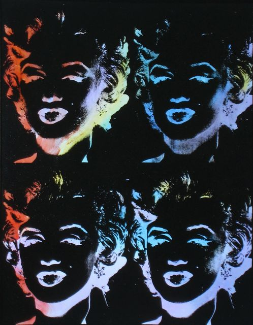 Andy Warhol, 'Nine Multicoloured Marilyns (Reversal Series) ', 1979-1986, Joseph K. Levene Fine Art, Ltd.