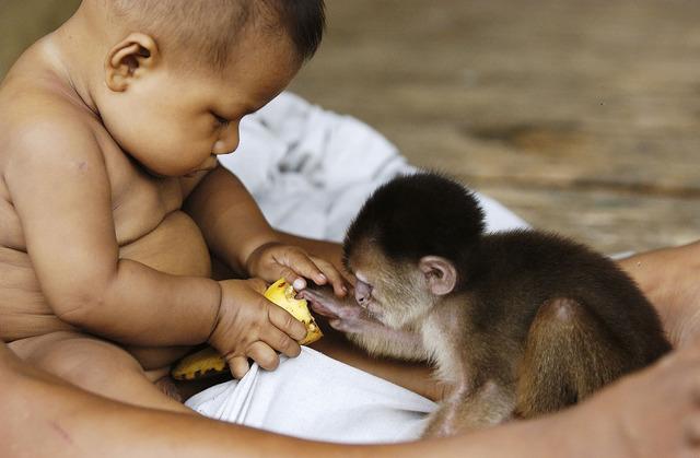 , 'Sharing (Boy and Monkey),' 2004, Gabarron Foundation
