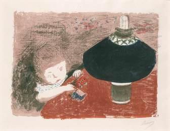 L'Enfant À La Lampe (Roger-Marx 43; Bouvet 43)