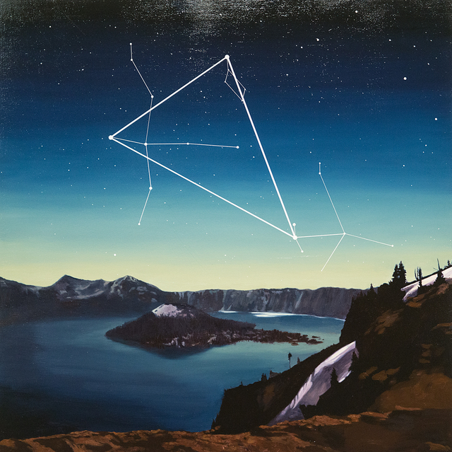 , 'Summer Triangle, Crater Lake National Park ,' 2017, Treason Gallery