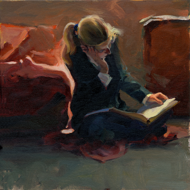 Kim English, 'Catching Up', 2021, Painting, Oil, Abend Gallery