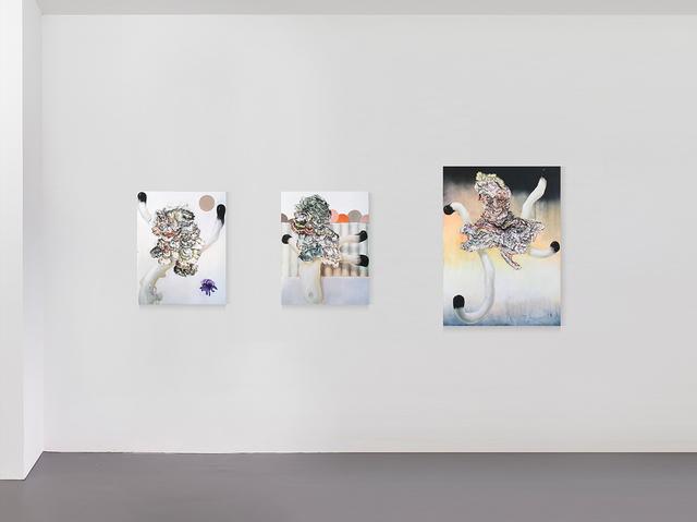 Benedikt Hipp, 'Neo-Plast', 2019, Painting, Oil and varnish on MDF, Kadel Willborn