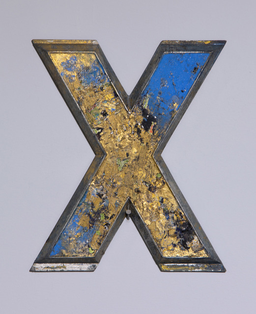 , 'X,' 2010, Project for Empty Space