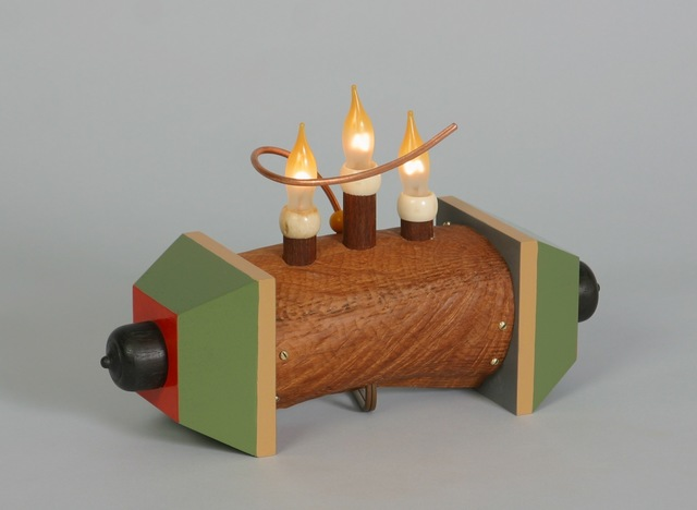 , 'Three Lights on a Log,' 2008, Gallery NAGA