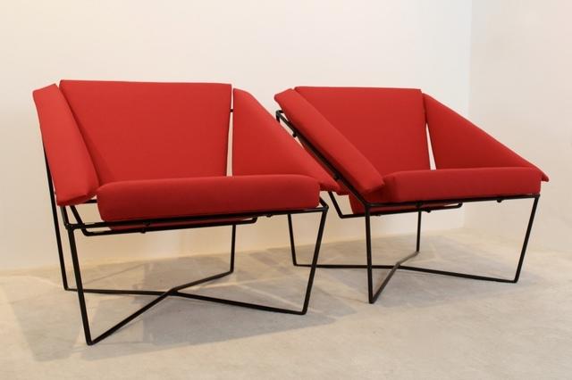 , 'Sculptural Pair of Van Speyk Easy Chairs by Rob Eckhardt, Holland,' ca. 1980, MooieStukken
