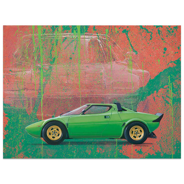 , 'Lancia Stratos | Automotive | Car,' 2018, Whyte Fine Art
