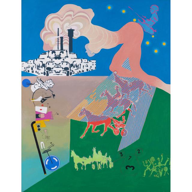 Gérard Guyomard, 'Naissance du centaure', 1969, PIASA