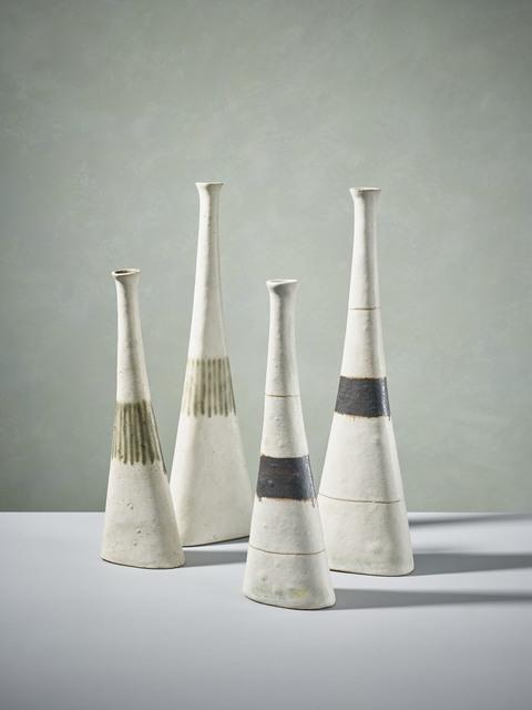 , 'Pair of White Bottles ,' 1990, 18 Davies Street Gallery