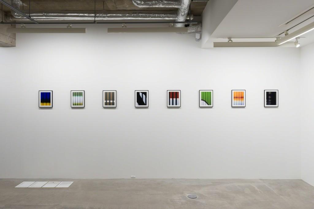 "Hideo Anze ""Stripe (50Hz)"", 2014-2015, edition 5, photo: © Ken Kato"