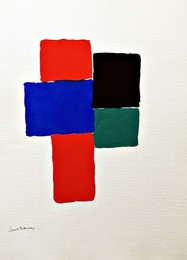 Geometric Abstraction (Estate of Elaine Lustig Cohen)