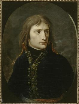 Baron Louis-Albert-Guillain Bacler d'Albe, 'Portrait du général Bonaparte (Portrait of General Bonaparte)', 1796-1797, Musée national du château de Malmaison
