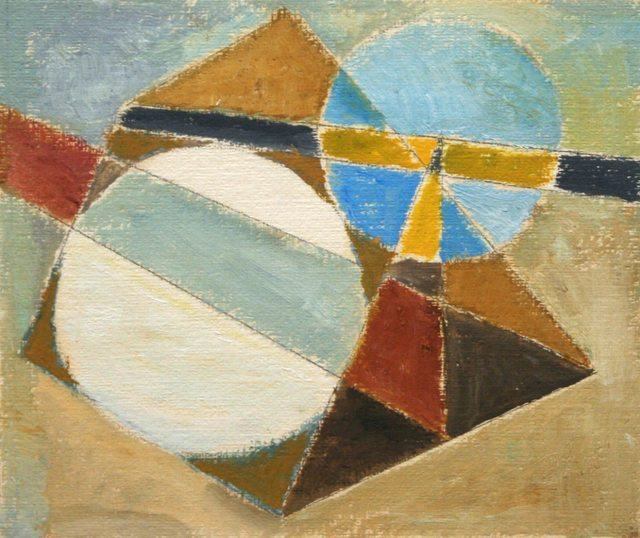 Werner Drewes, 'Untitled (Abstraction)', 20th Century, Richard Norton Gallery