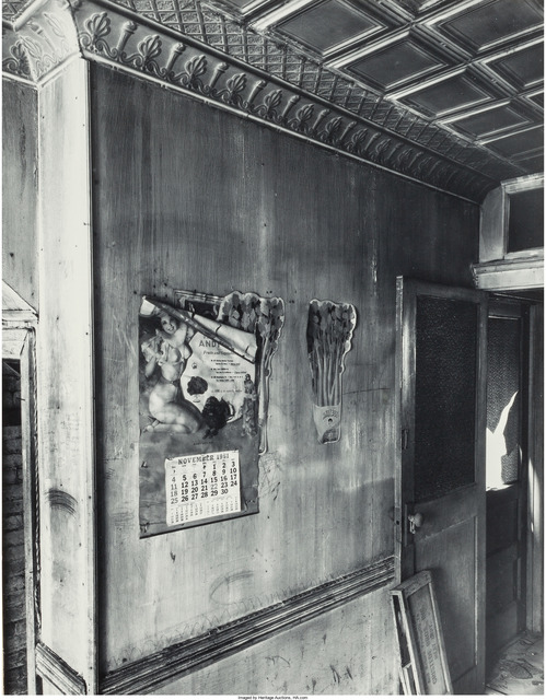 Danny Lyon, 'Abandoned Room, NYC', 1967, Heritage Auctions