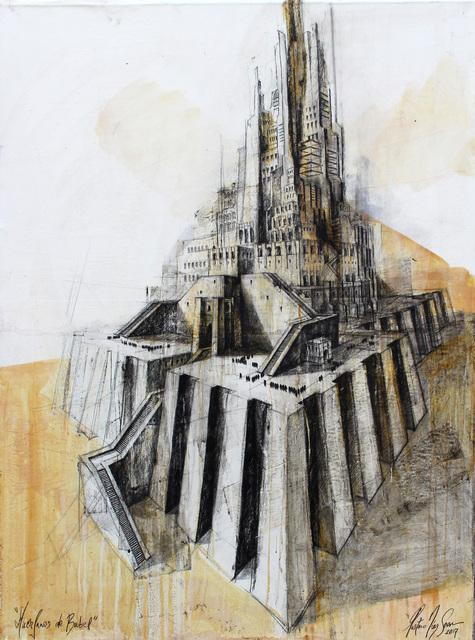 , 'De la serie Huerfanos de Babel,' 2017, Victor Lope Arte Contemporaneo