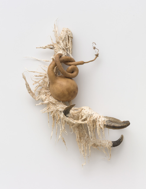 Guadalupe Maravilla, 'Ancestral Stomach 1', 2021, Sculpture, Dried gourd with mixed media, P.P.O.W