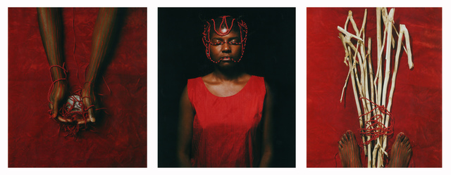 Maria Magdalena Campos-Pons, 'Red Composition', 1997, Giampaolo Abbondio