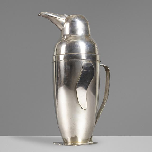 Napier, 'Penguin cocktail shaker', 1936, Wright