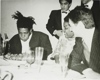 Andy Warhol, 'Jean-Michel Basquiat, Basquiat's Mother and friends,' ca. 1984, Phillips: New Now (December 2016)