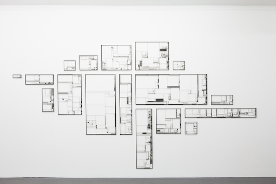 , 'Silhouettes (July 27 to November 4, 2013),' 2014, Haus der elektronischen Künste Basel