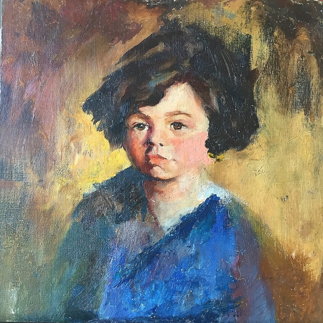 , 'Portrait of a Young Girl,' , Lawrence Fine Art