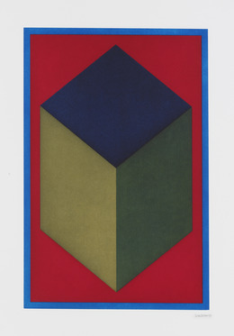 , 'Cube,' 1996, Sims Reed Gallery