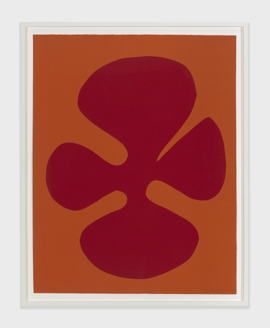 Leon Polk Smith, 'Untitled', 1965, Drawing, Collage or other Work on Paper, Paper on paper, Richard Gray Gallery