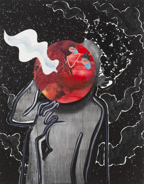 , 'Red Moon Breathing ,' 2015, Samuel Freeman