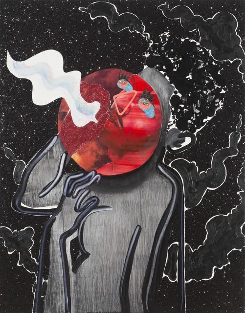 , 'Red Moon Breathing ,' 2015, Samuel Freeman