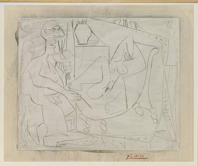 , 'Le Peintre et sa toile, 5 July 1964,' 1964, Opera Gallery