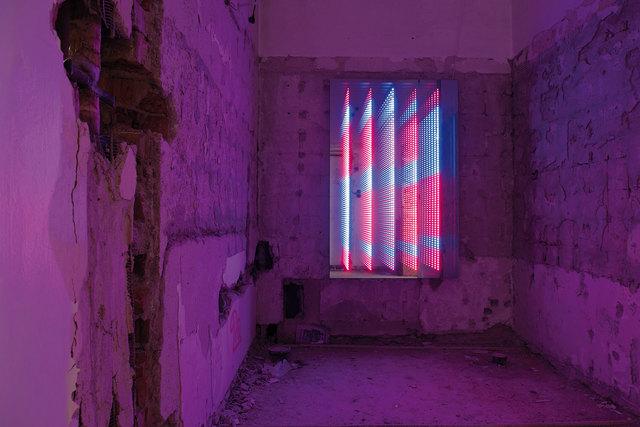 , 'Striptychon, Stars,' 2016, Anna Laudel