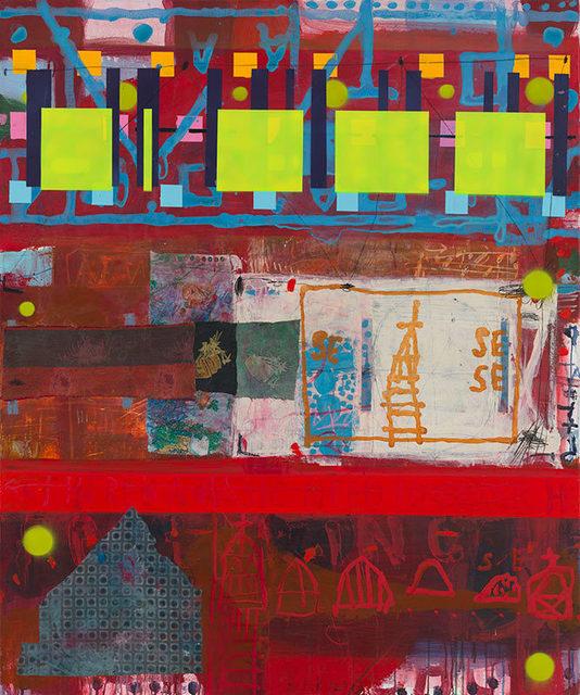 , 'Mondrian's City Walk,' 2017, Caldwell Snyder Gallery