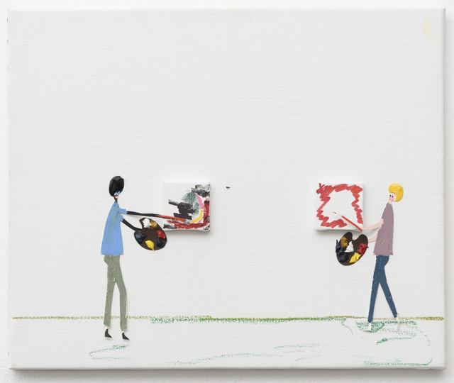 , 'Artist's Studio,' 2014, Richard Heller Gallery