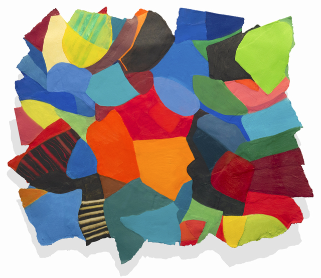 Gerri Rachins, 'POPROCK 0439', 2018, The Painting Center