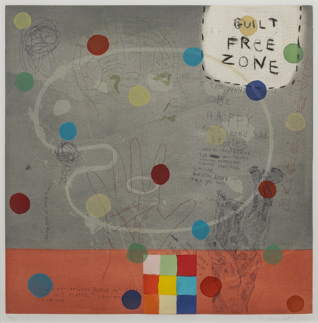 Squeak Carnwath, 'Be Happy', 2002, Hindman