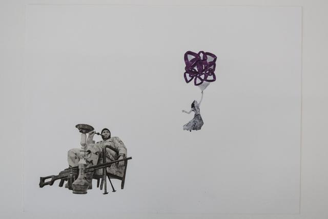 , 'Float Along Bankers & Freedom Fighters,' 2013, Ellen de Bruijne Projects